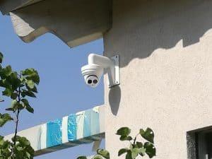 התקנת מצלמות אבטחה במרכז