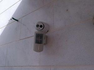 התקנת מצלמות אבטחה ברחובות